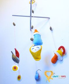 Baby mobile - Baby Theme Bby0001