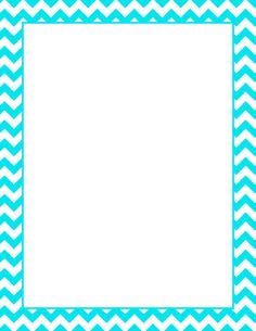 Printable turquoise chevron border. Free GIF, JPG, PDF, and PNG downloads at http://pageborders.org/download/turquoise-chevron-border/. EPS and AI versions are also available.