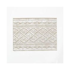 West Elm Metallic Cable Knit Placemat, Set of 2