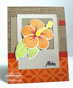 Aloha by stampinjewelsd - Cards and Paper Crafts at Splitcoaststampers