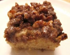 Gluten-Free Coffee Cake Worth Celebrating-sub out with sugar free sweeteners