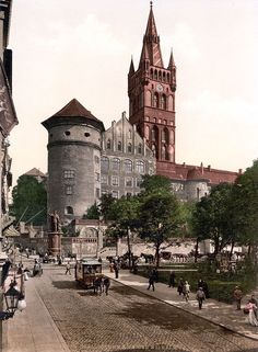 Königsberg Castle before World War I