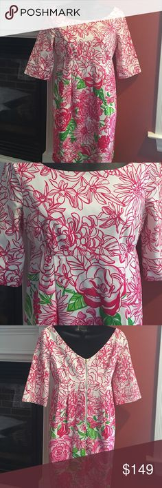 LILLY PULITZER TUNIC DRES SIZE 0 WORN ONCE PERFECT Absolutely gorgeous. Lilly Pulitzer Dresses