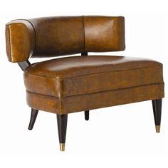 mahogany &  mottled leather
