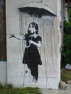 """People who get up early in the morning cause war, death and famine.""  — Banksy (Banging Your Head Against a Brick Wall)"