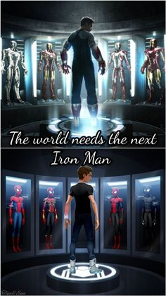 peter parker I LOVED ALL THE PARALLELS! He even LOOKS like a tiny young Tony Stark! I mean, him designing his own suit! Happy looking at him like he just saw his bff again? My heart mel Marvel Fanart, Marvel Films, Marvel Dc Comics, Marvel Heroes, Marvel Avengers, Marvel Quotes, Funny Marvel Memes, Loki Quotes, Young Tony Stark
