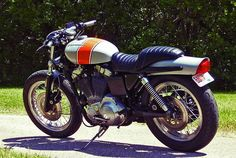 Harley-Davidson Sportster 1200 cafe racer by Robert Jensen