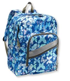 L.L.Bean Deluxe Book Pack, Print: School Backpacks | Free Shipping at L.L.Bean