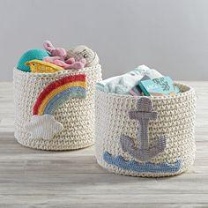 Knit Nursery Bins