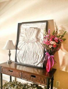 30 Ways To Display Your Wedding Dress And Accessories   HappyWedd.com