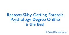 School Psychology best degree to get