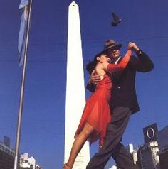Tango is a music identifying from Argentina