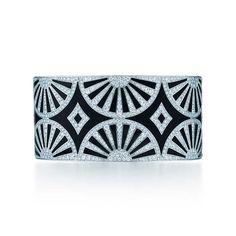 Pulsera de Abanicos Art Deco Tiffany & Co