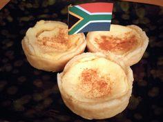 2 cups Milk 1 teaspoon Salt 1 teaspoon Butter 1 teaspoon Cornstarch/cornflour 1 teaspoon Custard Powder (I Recommend Bird's) 2 Tablespoons F. South African Desserts, South African Dishes, South African Recipes, Africa Recipes, South African Braai, Tart Recipes, Dessert Recipes, Cooking Recipes, Oven Recipes