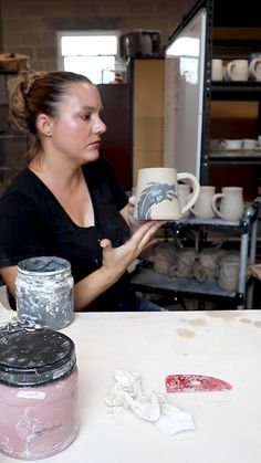 Terrific No Cost clay texture videos Concepts Here's how I create the design on this Dragon mug. This is of course after I threw the mug on the Pottery Kiln, Pottery Store, Pottery Tools, Pottery Wheel, Pottery Mugs, Ceramic Pottery, Ceramic Art, Make A Dragon, Pottery Courses