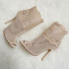 Chinese Laundry Jeopardy Open Toe Booties
