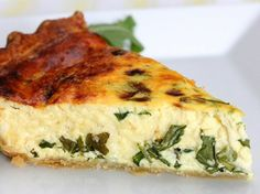 #Ricotta and #Arugula Quiche 15 Arugula #Recipes | All Yummy Recipes