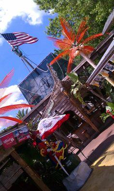 The Slip-knot, Punta Gorda, #Florida, where you can eat a fantastic hamburger.