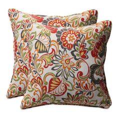 Zoe Square Throw Pillow (Set of 2) - BedBathandBeyond.com