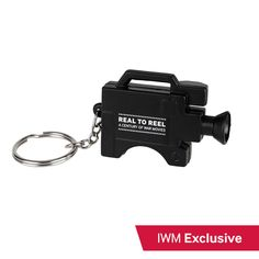 Real to Reel camera keyring Warfare, Led, Personalized Items