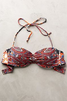 Mix-and-Match Ruched Bandeau Top #anthropologie