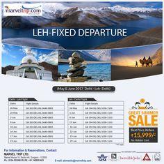 Special Offer - Delhi Leh Delhi Fixed Departures Explore North East Book Return Flight @ INR 15,999/PP Onwards