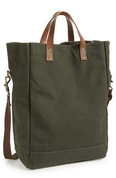United By Blue 'Market' Organic Waxed Canvas Tote available at #Nordstrom