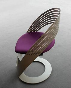 The flowing, continuos design of this chair by Martz Edition is what makes it so original and visually pleasing. Like a super stylish nest or nook, this chair defines. Unique Furniture, Cheap Furniture, Industrial Furniture, Furniture Design, Furniture Websites, Inexpensive Furniture, Furniture Online, Art Furniture, Furniture Stores