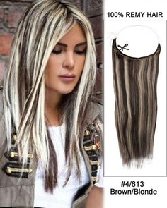 Wholesale Brown/Blonde Straight Remy Hair Flip In Human Hair Extensions Secret Hair Extensions, Remy Hair Extensions, Hair Flip, Brown To Blonde, Hair Piece, Trendy Hairstyles, Hair Color, Dreadlocks, Long Hair Styles