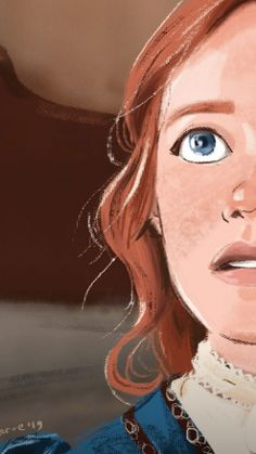 Anne Shirley, Gilbert And Anne, Anne White, Amybeth Mcnulty, Cuthbert, Cool Art, Art Drawings, Illustration Art, Harry Potter