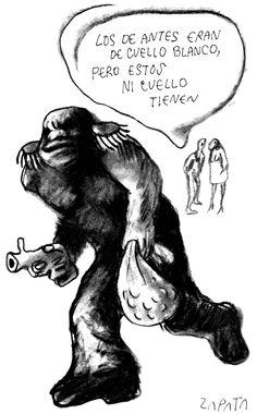 Caricatura de Zapata en la página de Opinión. Caracas, 10-05-2004. (PEDRO LEON ZAPATA / EL NACIONAL)