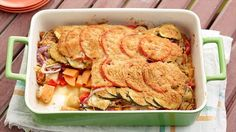 Tomato Vegetable Casserole Recipe : Giada De Laurentiis : Food Network