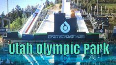 OLYMPIANS TRAINING AT UTAH OLYMPIC PARK WATER RAMPS!  Park City Water ramps, ski training, freestyle skiing