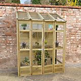 Forest Garden 4X2 Styrene Greenhouse | Departments | DIY at B&Q