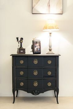 "Comodă antichizată cu trei sertare ""Charme"" Living, Dresser As Nightstand, China, Boutique, Table, Furniture, Home Decor, Houses, Underwear"