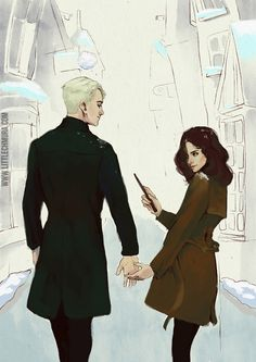 littlechmura: I see you my dramione shippers. littlechmura: I see you my dramione shippers. Harry Potter Anime, Arte Do Harry Potter, Harry Potter Ships, Harry Potter Drawings, Harry Potter Fan Art, Harry Potter Universal, Harry Potter Fandom, Harry Potter World, Harry Potter Characters