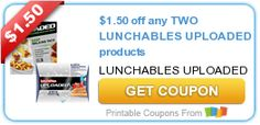 $1.50 off any TWO LUNCHABLES products #coupon