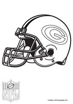 Green Bay Packers Coloring Sheets Free Green Bay Packers