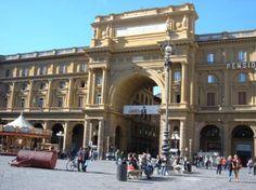 Piazza della Repubblica, Florence Italy
