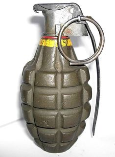 World War II hand grenade temporarily closes police station in Denmark - Friend Tag Borad Military Weapons, Ww2 Weapons, Military Equipment, Okinawa, Fleas, Firearms, World War, Purses, Antiques