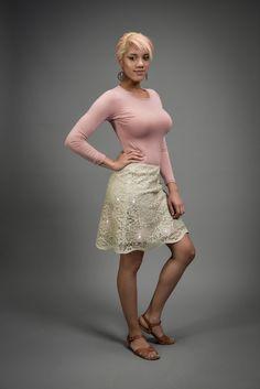 Sparkle skirt tutorial