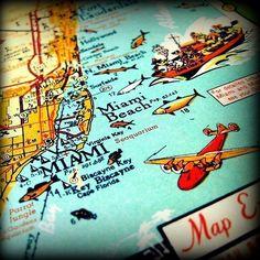 miami beach map