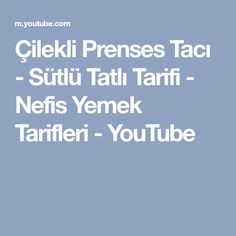 Çilekli Prenses Tacı - Sütlü Tatlı Tarifi - Nefis Yemek Tarifleri - YouTube
