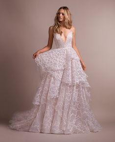 Hayley Paige Style 6915 Rad Bridal Gown Lace Mermaid Wedding Dress bc72dd617d1c