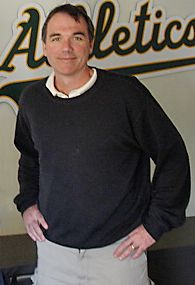 The Moneyball Star, Billy Beane (played by Brad Pitt)