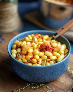 Coco de Paimpol à la tomate Food Photography, Gluten, Vegetables, Blois, Meringue, Vegetarische Rezepte, Cooking Recipes, Butter, Merengue