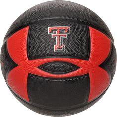 Texas Tech Red Raiders Official Spongetech Basketball - Black - $24.99