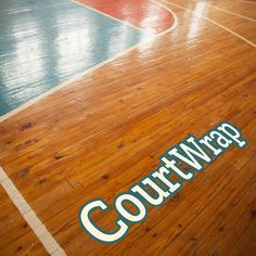 panoRama CourtWrap Protect – Textured non-slip floor graphic laminate for basketball courts and other flat indoor surfaces