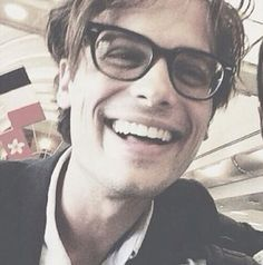 Matthew Gray Gubler ❤️❤️ (Can't wait until I get to meet him, he's perfect)