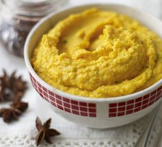 Carrot & star anise purée- im going to make this but not puree it Pureed Food Recipes, Bbc Good Food Recipes, Yummy Food, Low Fodmap Vegetables, Christmas Scents, Christmas Recipes, Christmas Crafts, Cooked Carrots, Star Anise